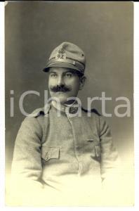 1917 WW1 Ritratto di militare del 24° Reggimento Fanteria *Fotografia FP NV