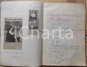 1954 - 1962 MILANO Galleria LE GRAZIE - Rassegna stampa con autografi pittori
