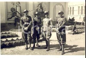 1929 REGIO ESERCITO CAMPOBASSO Militari del 5° Reggimento Fanteria in cortile