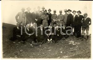 1929 CAMPOBASSO Ufficiali in congedo 5° Reggimento Fanteria alle esercitazioni
