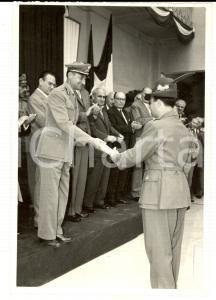 1962 BERGAMO Festa della GUARDIA DI FINANZA - Il Capo di Stato Maggiore *Foto