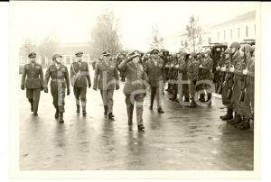 1961 BERGAMO Divisione LEGNANO Generale Comandante passa in rivista le truppe