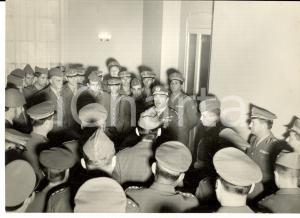 1961 BERGAMO Divisione LEGNANO - Generale Comandante tiene un discorso *Foto
