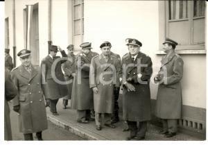 1961 BERGAMO Divisione LEGNANO - Generale Comandante durante una visita *Foto