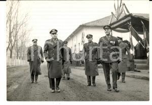 1961 BERGAMO Divisione LEGNANO Generale Comandante arriva al palco *Foto