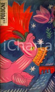 1959 PARIS La Pologne *Rivista ILLUSTRATA N°7 Artisti di ZAKOPANE