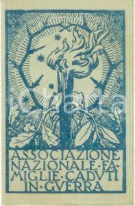 1957 VALENZA Cristina PERRONE Associazione Nazionale Famiglie Caduti *Tessera