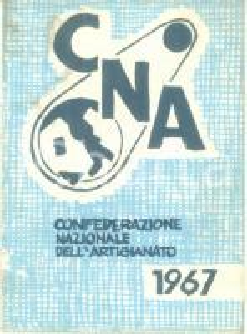 1966 TORINO Tessera CNA Confederazione Nazionale Artigianato