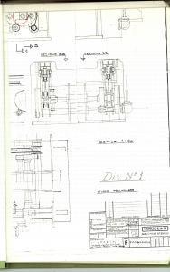 1970 MILANO Ditta INNOCENTI Fascicolo su dispositivo TRANSFER 70 pp con DISEGNI
