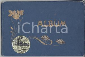 1909 CASTELLAMONTE (TO) Album con disegni del paese e delle frazioni *A MANO