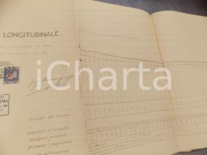 1928 POGGIOMARINO (NA) Ing. Biagio FIENGA Progetto di acquedotto 30 x 270 cm