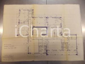 1963 TRAREGO VIGGIONA (VB) Planimetria VILLA ELSA Ing Fulvio DURANTE Primo piano