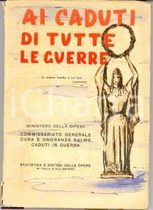 1950 Ai caduti di tutte le guerre, monumenti