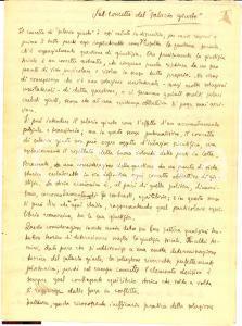 1930 Paolo Ettore Santangelo salario giusto manscr