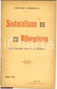 1905 Sindacalismo e Riformismo *Arturo Labriola