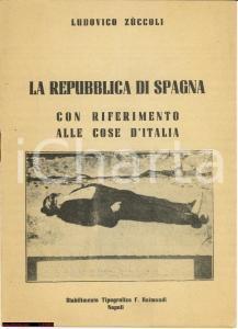 1946 Zuccoli - Guerra Civile Spagnola e Referendum
