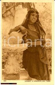 1915 Tripoli *Bellezza beduina alla fonte