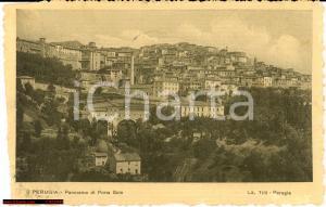 1915 Perugia - Panorama di Porta Sole