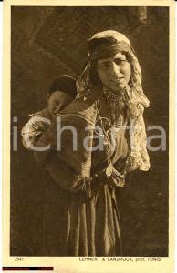 1915 Tripoli *Fotoritratto Madre beduina con bimbo