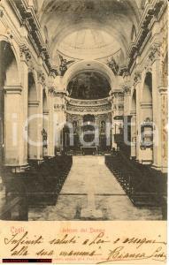 1904 Cagli - Duomo *Immagine della navata centrale