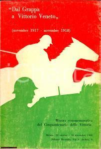 1968 Milano DAL GRAPPA A VITTORIO VENETO cinquantenario