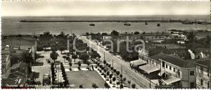 1955 ca MARINA DI CARRARA (MS) Panorama del porto *Cartolina FG NV