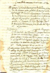 1831 CATANIA Estinzione debito verso don Raffaele ZAPPALA' GARZIA Manoscritto
