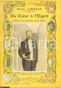 1911 Henri LAVEDAN Du coeur à l'Esprit Ill. GERBAULT