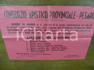 1963 PESARO assemblea CONSORZIO APISTICO PROVINCIALE