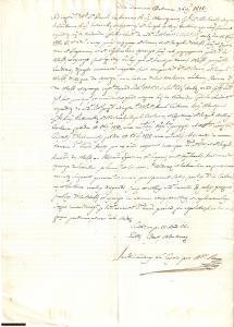1818 CHIARAMONTE GULFI Lite baroni VENTURA contro MELFI