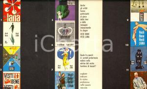 1960  VESTI BENE VESTI LANA gioco delle immagini