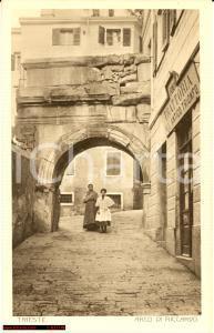 Trieste anni '20 Trattoria Antico Trionfo *Animata