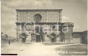 1910 L'Aquila - S. Maria Collemaggio - Animata