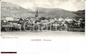 Sulmona anni '20 - largo panorama d'epoca