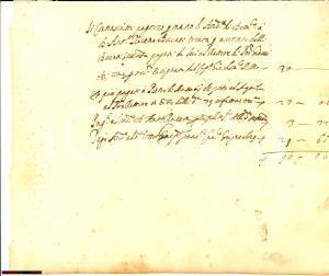 1629 L'AQUILA Ducati versati al rettore di SAN GIOVANNI