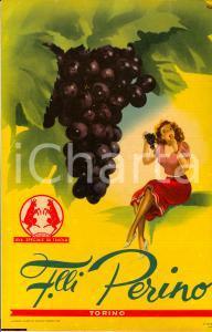 1951 TORINO F.lli PERINO Uva speciale ill. GIANROSA