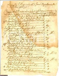 1610 AREZZO Condanna affittuari agente Francesco CIONI