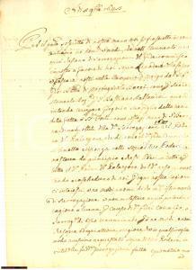 1643 AREZZO Gregorio BACCI erede terre Casina e Pescaie