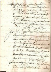1749 AREZZO Ultime volontà Antonio F. DE RUBERTIS 26pp