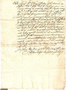 1685 AREZZO Debiti famiglie BACCI BRANDOGLI