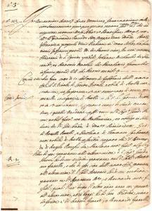 1650 CATONA AR Nobili RICCIARDETTI vendono censo PECORI