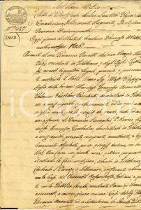 1826 FILOTTRANO (AN) Casa a Domenico BERNABEI contadino