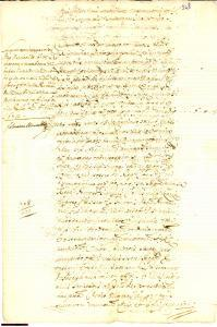 1672 MARSALA Meli e Catinella pagano Gabella a Martinez