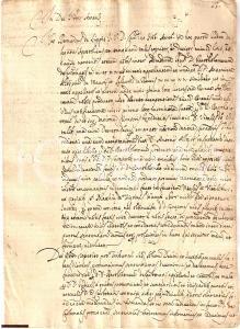 1668 AREZZO Bartolomeo CARBONATI ottiene eredità VITALI