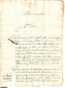 1680 MONTE SAN SAVINO Denaro erede Margherita MENICUCCI