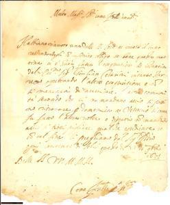 1617 VESCOVIO (RI) Esecuzioni pro Giuliano CESARINI