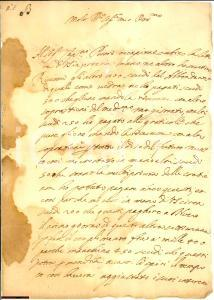 1643 FIRENZE Girolamo BONACCORSI presenta il rendiconto