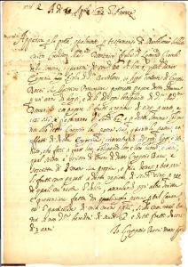 1643 FIRENZE Domenica GIACCHI credito Eugenia SUBBIANI