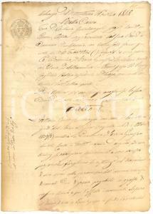 1848 PENNE (PE) Enrico GINESTRA condannato per grano