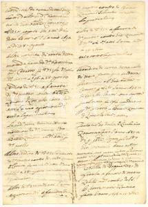 1700 BORZONASCA (GE) Storia famiglie ZANONE e ZOLEZZI